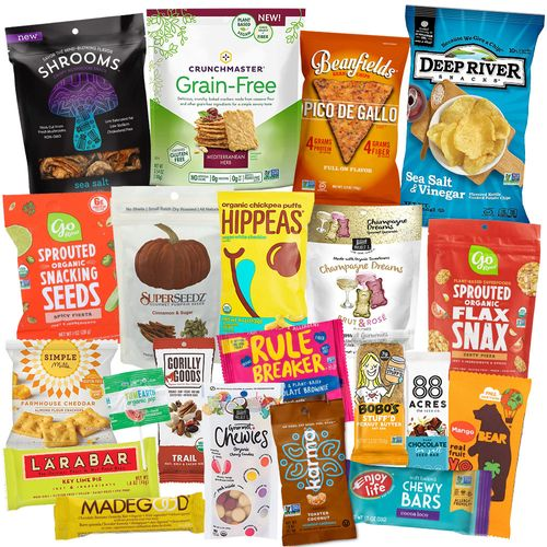 Egg Free Snack Attack (21 goodies)