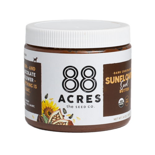 88 Acres- Dark Chocolate Sunflower Seed Butter