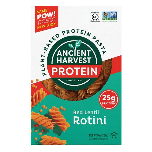 Ancient Harvest POW- Red Lentil Rotini
