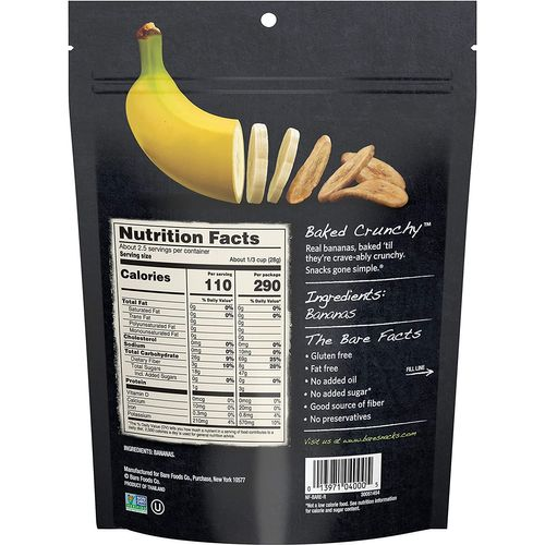 Bare Fruit- Organic Simply Banana Chips