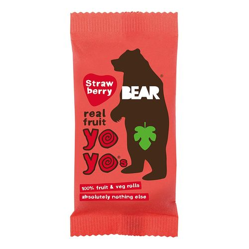 Bear Yoyo- Strawberry Real Fruit Yoyo