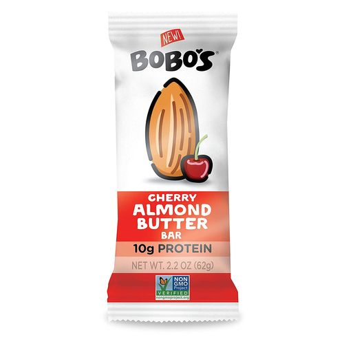 Bobo's- Cherry Almond Butter Protein Bar