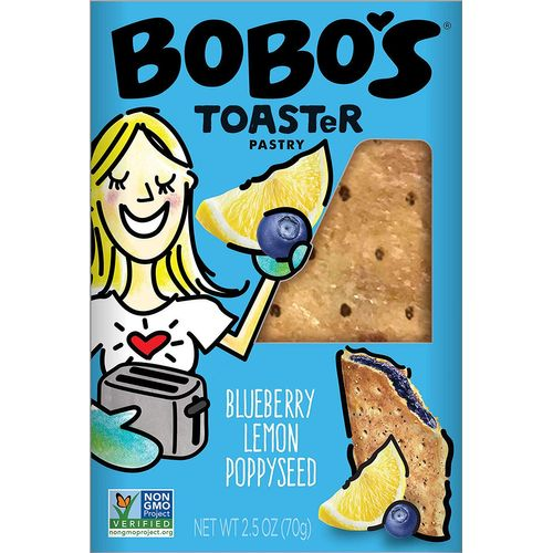 Bobo's- Blueberry Lemon Poppyseed Toaster Pastry