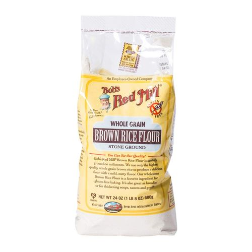 Bob's Red Mill- Gluten Free Whole Grain Brown Rice Flour