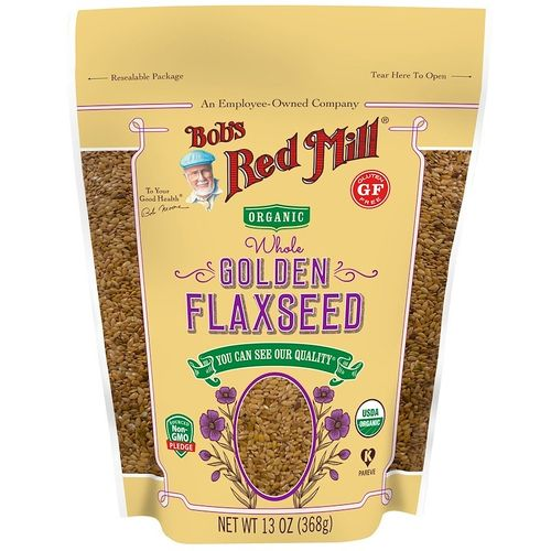 Bob's Red Mill- Organic Whole Golden Flaxseed