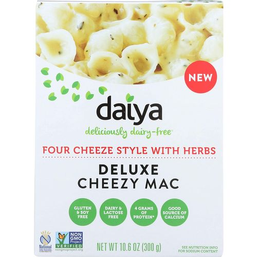 Daiya- Four Cheeze Style With Herbs Deluxe Cheeze Mac