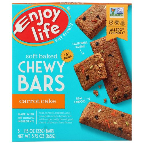 Enjoy Life- Carrot Cake Chewy Bars