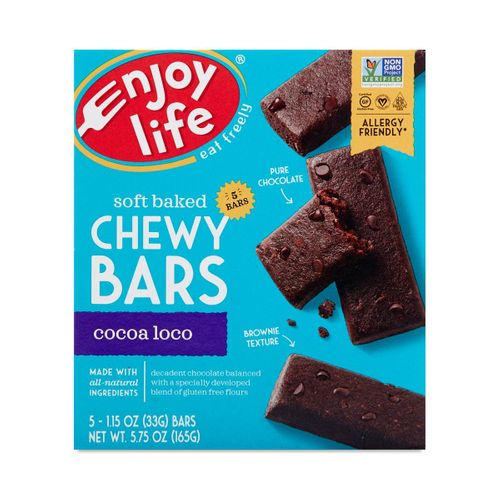 Enjoy Life- Cocoa Loco Soft Baked Chewy Bars