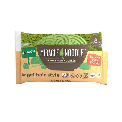 Miracle Noodle- Spinach Angel Hair Noodles