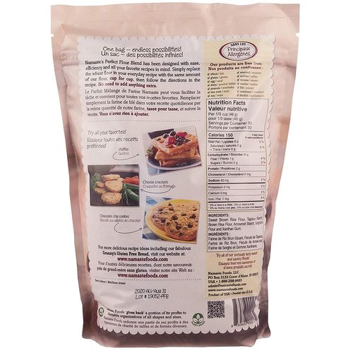 Namaste Foods- Gluten Free Perfect Flour Blend Mix
