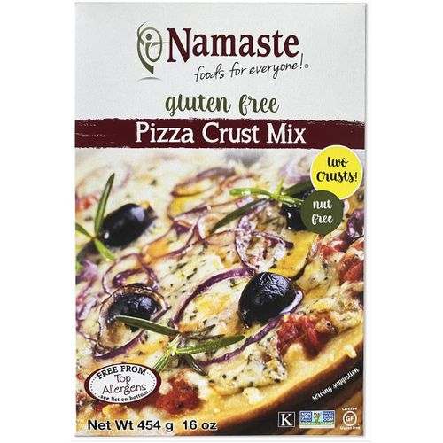 Namaste Foods- Gluten Free Pizza Crust Mix