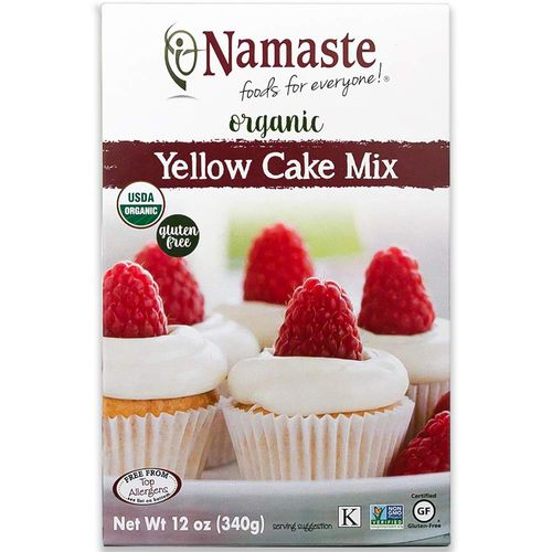 Namaste Foods- Organic Yellow Cake Mix