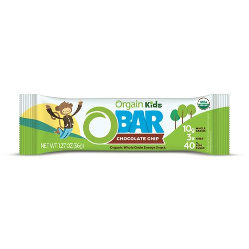 Orgain- Chocolate Chip Organic Kids O Bar