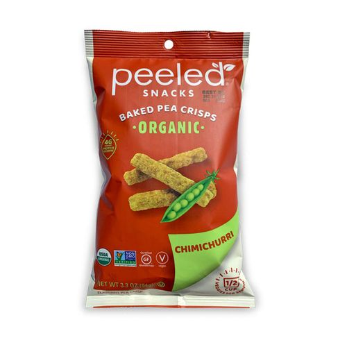 Peeled Snacks- Chimichurri Baked Pea Crisps