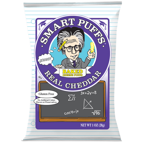 Pirate Brands- Real Cheddar Smart Puffs