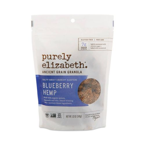 Purely Elizabeth- Blueberry Hemp Ancient Grain Granola