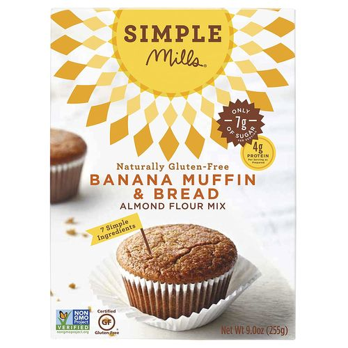 Simple Mills- Banana Muffin & Bread Mix