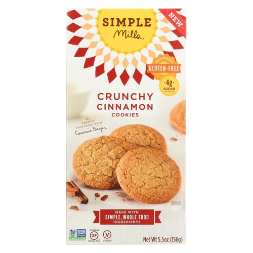 Simple Mills- Crunchy Cinnamon Cookies