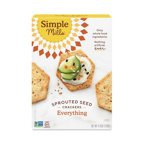 Simple Mills- Everything Sprouted Seed Crackers