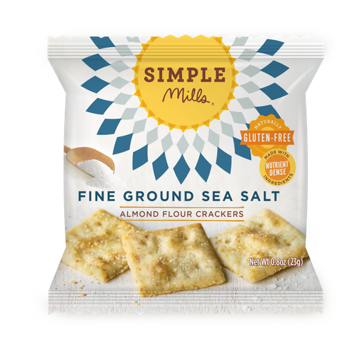 Simple Mills- Fine Ground Sea Salt Almond Flour Snack Pack