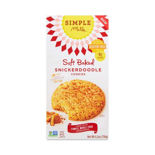 Simple Mills- Soft Baked Snickerdoodle Cookies