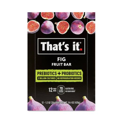 That's It- Fig Fruit Bar with Pre+Probiotics