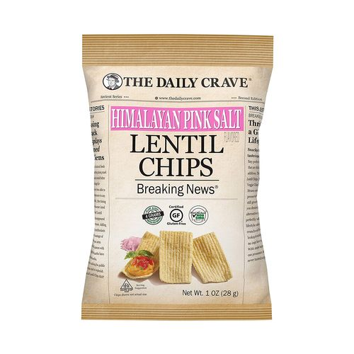 The Daily Crave- Himalayan Pink Salt Lentil Chips