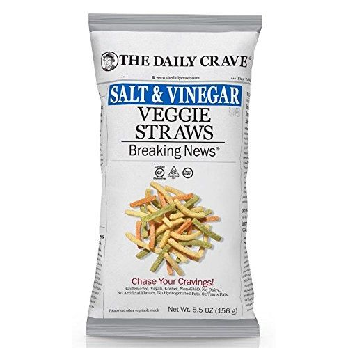 The Daily Crave- Salt & Vinegar Veggie Straws