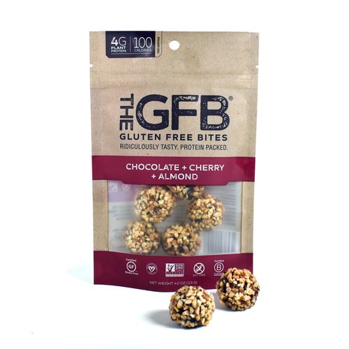 The GFB- Chocolate Cherry Almond Gluten Free Bites