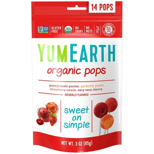 YumEarth- Organic Assorted Flavor Lollipops